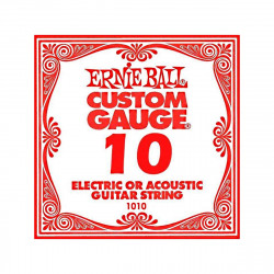 ERNIE BALL 1010 ELECTRIC STRING CUSTOM GAUGE 0,10