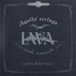 Aquila  114U Set di corde per Ukulele Tenore - High G - Super Nylgut® - Serie Lava