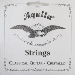 Aquila  131C Set di corde per chitarra classica Nylon trasparente - Serie Cristallo