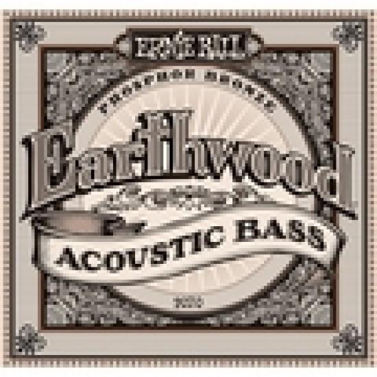 Ernie Ball 2070 Earthwood Acoustic Bass Strings 45-95 Phosphor Bronze