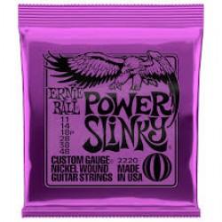 ERNIE BALL 2220 POWER SLINKY ELECTRIC GUITAR STRINGS SET 11-48