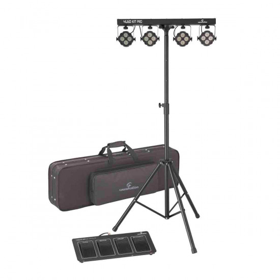 SOUNDSATION 4LEDKIT-PRO KIT LUCI 4x4Pz 10W RGBW 4IN1 LED