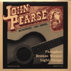 John Pearse 600L - Corde per chitarra acustica - Phosphor Bronze