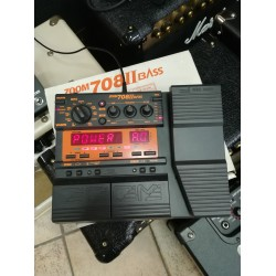 Zoom 708 II Bass 2nd pedaliera multieffetto per basso
