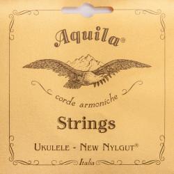 Aquila 7U Set di corde per Ukulele Concerto - High G - New Nylgut -