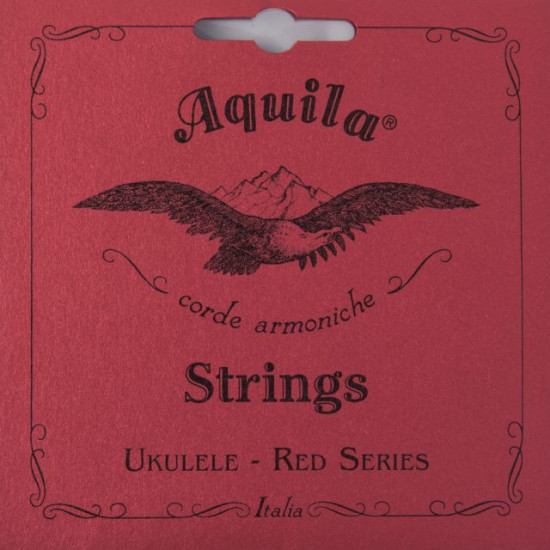 AQUILA 83U UKLULELE STRIGNS SET RED SOPRANO