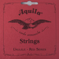 AQUILA 85U UKLULELE STRIGNS SET RED CONCERT
