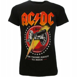 T-Shirt AC/DC For Those About To Rock - Taglia XL