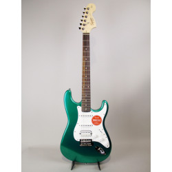 FENDER STRATOCASTER SQUIER AFFINITY HSS RACE GREEN