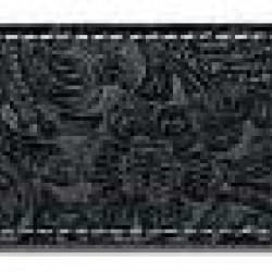Steph  BS1029BLACK Tracolla in pelle scamosciata - Nero -