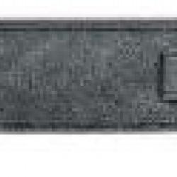 Steph  C744VINTBLACK Tracolla in pelle - Nero Vintage -