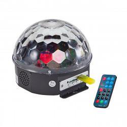 SOUNDSATION CB-630 CRYSTAL BALL 6X3W LED RGB