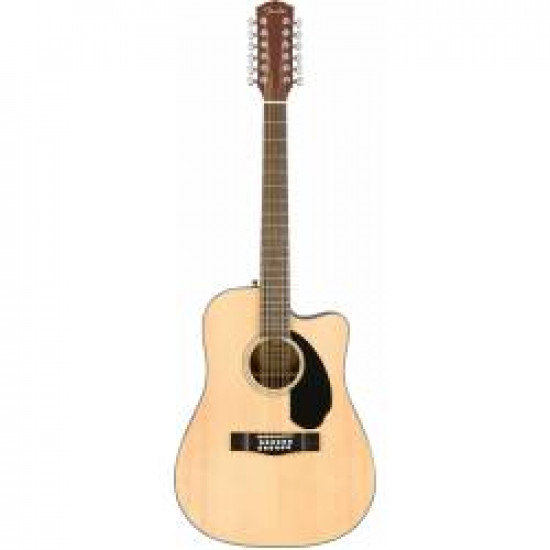 FENDER CD60SCE-12 12 STRINGS GUITAR ELECTRIFIED NATURAL