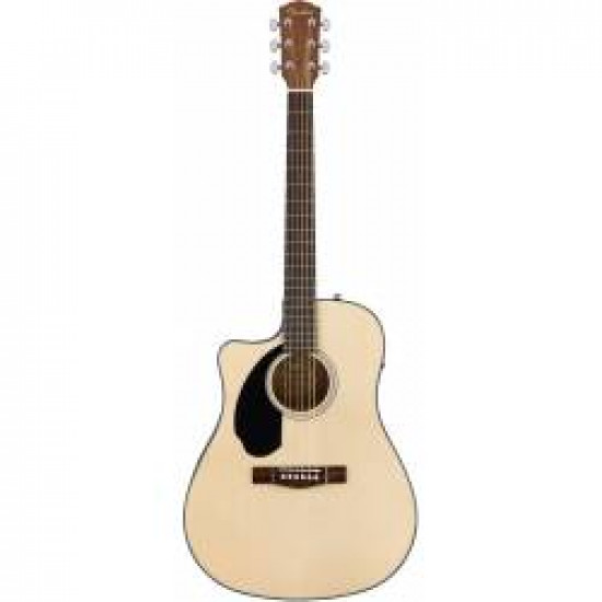 FENDER CD60SCE ACOUSTIC ELECTRIFIED NATURAL LEFT HAND