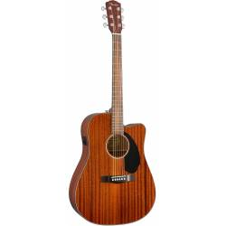 FENDER CD60SCE ACOUSTIC ELECTRIFIED ALL MAHOGANY