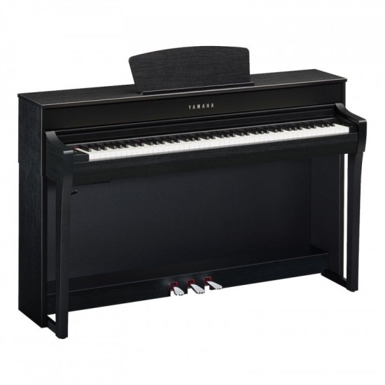 YAMAHA CLP735 DIGITAL PIANO BLACK SATIN