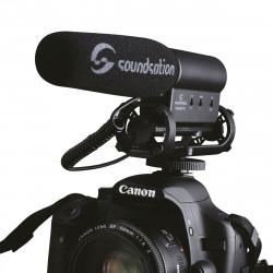 SOUNDSATION CamAudio PRO MICROFONO PER VIDEOCAMERA
