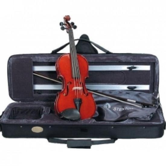 Stentor Conservatoire 4/4 - Violino professionale con custodia rettangolare e arco VL1300