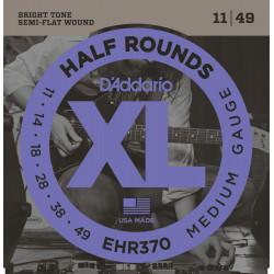 D'Addario EHR370 Corde per chitarra elettrica Half Rounds 11-49