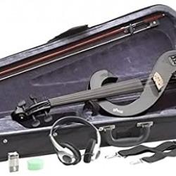 STAGG EVN 4/4 MBK Kit Violino Elettrico