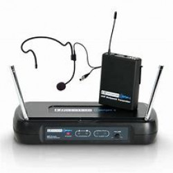 LD Systems WSECO2BPH1 Radio Microphone Headset 863.100 MHZ