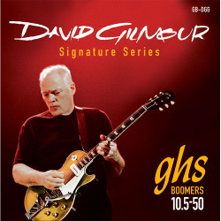 GHS Boomers GB-DGG David Gilmour Red - Set corde chitarra elettrica 10.5-50