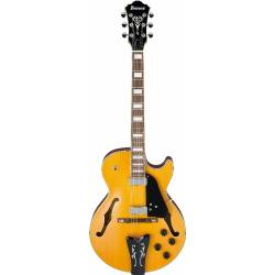 Ibanez GB10EM-AA George Benson Signature Hollow Body Antique Amber