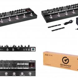 Gokko GK38 AXE MX300 Pedaliera Multieffetto analogica per chitarra elettrica