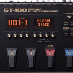 BOSS GT100 V2 GUITAR MULTI-EFFECTS