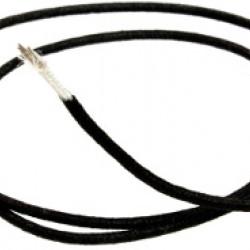 All Parts GW-0820-B23 Cavo per cablaggio coper. cotone Nero Vintage Style - 30 cm
