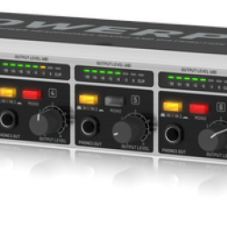Behringer HA8000V2 8-Ch Headphone Mixing-Distribution Amp Rac