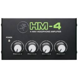 MACKIE HM4 HEADPHONE AMPLIFIER 4-CHANNEL