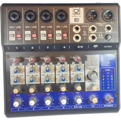 MP Audio MC06X Mixer W/DSP