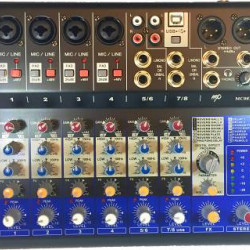 MP Audio MC08X Mixer W/DSP