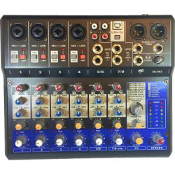 MP Audio MC08X Mixer W/DSP