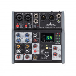 SOUNDSATION MIOMIX 202UFX MIXER CON EFFETTO & USB I/