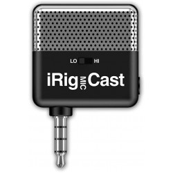 IK Multimedia IRig Mic Cast 2 Voice Recording Microphone