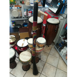 OYSTER DID PVC150-6 DIDGERIDOO CM 150 W/TURTLE DOT PAINTED