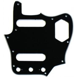All Parts  PG-0580-033 Battipenna tipo Jaguar (10 fori) - 3 strati - Nero