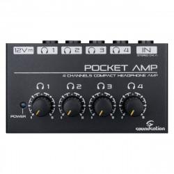SOUNDSATION POCKET-AMP MINI AMPLIFICATORE PER CUFFIE