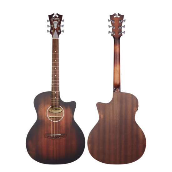 D'Angelico PREMIER GRAMERCY LS AGED MAHOGANY
