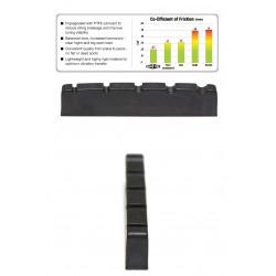 Black Tusq PT-1400-00 Capotasto per basso 5 corde con spaziatura