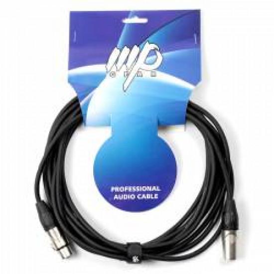 MP GEAR PXX-001/1M MIC CABLE PRO XLR-XLR MT 1