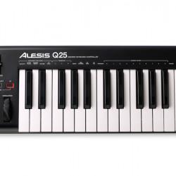 Alesis Q25 Midi Key Controller USB & MIDI