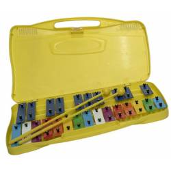 OQAN QPP-25 Glockenspiel Chromatic 25 Notes Colored