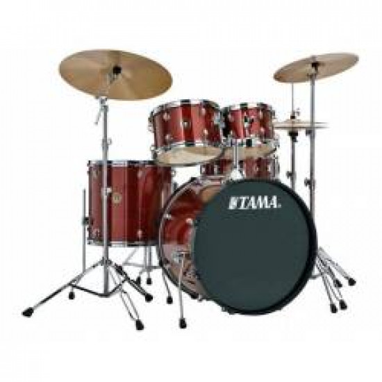 Tama RM52KH6C  Rhythm Mate Series Drum Complete Red Stream
