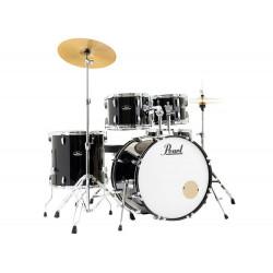 Pearl Roadshow RS585C/C31 Jet Black - Batteria 5pz completa di piatti Sabian - Jazz set
