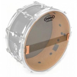 EVANS S14H30 Hazy-300 Drumhead Clear Resonant Snare 14