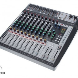SOUNDCRAFT SIGNATURE 12 MTK MIXER 12 INGRESSI, EFX, I/O USB 14 IN / 12 OUT