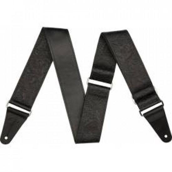 Fender Strap Tooled Leather Black